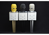 Микрофон караоке Q7 + встроенная колонка