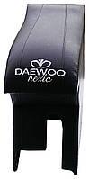 Подлокотник Daewoo Nexia Люкс (Деу Нексиа) черный с вышивкой