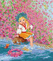 """БИС-6213 Рисунок на ткани для вышивки """"Маленька україночка"""""""