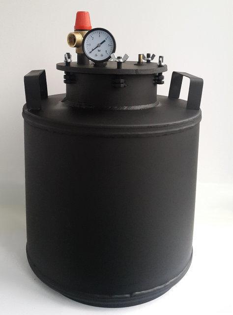 Автоклав бытовой с взрывным клапаном на 5 литровых банок(или 16 пол-литровых)