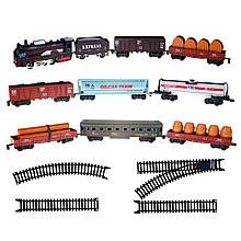 Набор игровой Железная дорога с 9 вагонами