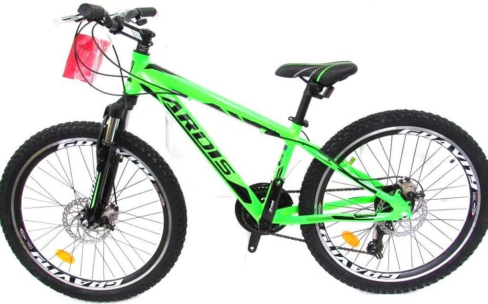 """Подростковый велосипед ARDIS EZREAL MTB 24"""" Салатовый"""