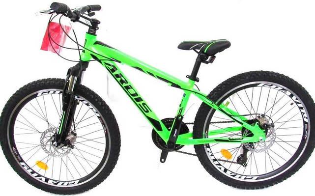 """Подростковый велосипед ARDIS EZREAL MTB 24"""", 13""""  Салатовый"""