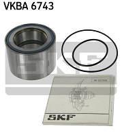 Подшипник задней ступицы на Renault Master III 2010-> RWD  — SKF (Швеция) VKBA 6743