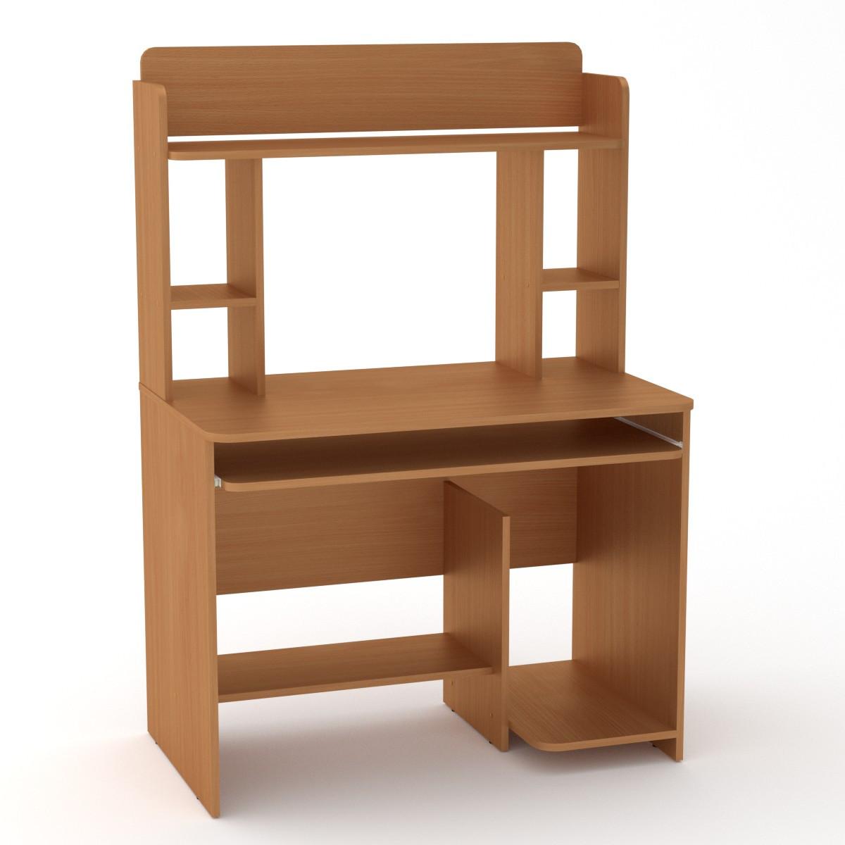Стол компьютерный СКМ-6 бук Компанит (100х60х144 см)