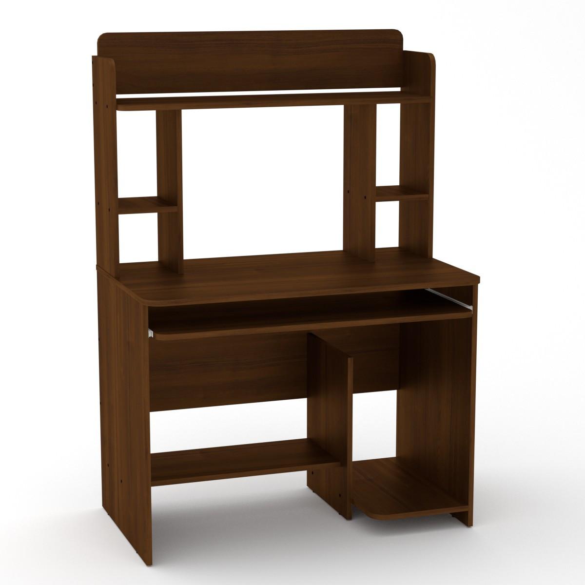 Стол компьютерный СКМ-6 орех экко Компанит (100х60х144 см)
