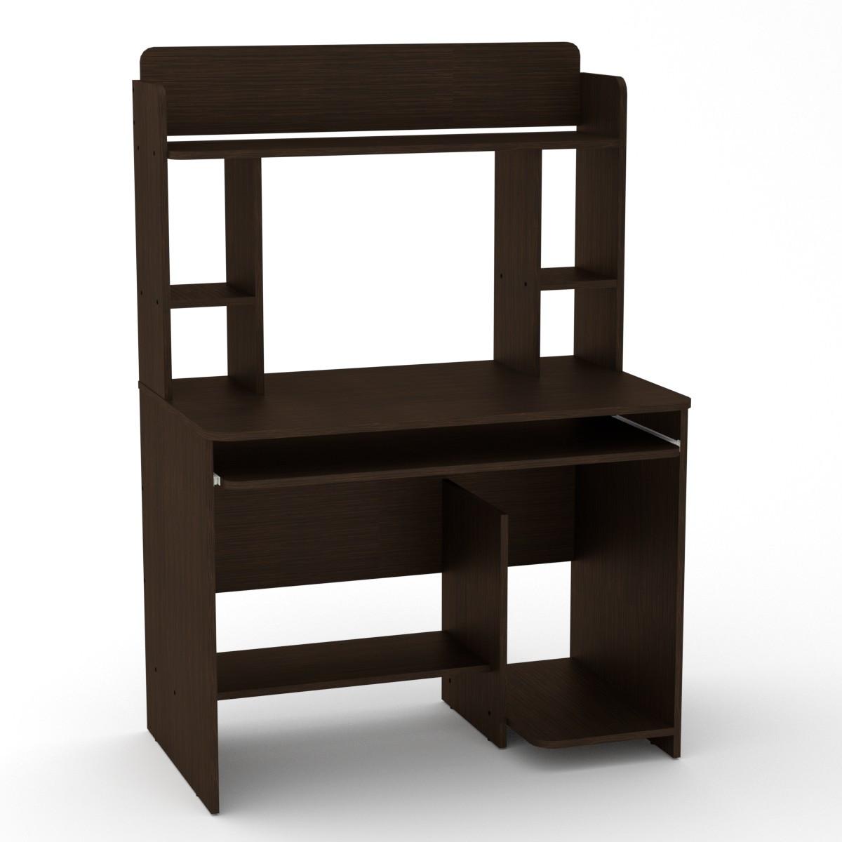 Стол компьютерный СКМ-6 венге темный Компанит (100х60х144 см)