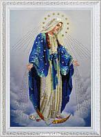 """Набор для вышивания бисером Р-283 Икона """"Пресвятая Дева Мария"""""""
