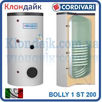 Бойлер косвенного нагрева Cardivari Bolly 1 st 200 л (один теплообменник)