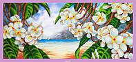 """Набор для вышивания бисером Р-319 """"Райский остров"""""""