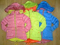 Пальто зимние на меху на девочек оптом, Grace, 4 рр