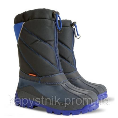 5027d59d4 Зимние дутики, сноубутсы, сапоги Demar NIKO-M B для мальчика р.35-40 ТМ  Demar (Польша) синий