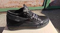 Мужские кроссовки Phillip Plein черные, фото 1
