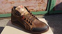 Мужские ботинки коричневые, фото 1