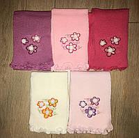 Детские вязанные шарфы