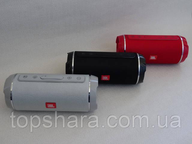 Колонка портативная влагостойкая JBL TG-116 черная серая красная