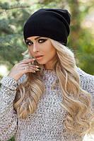 Женская зимняя шапка-колпак «Хэлхейм» Черный