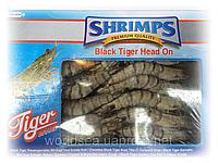 Креветка черная тигровая с головой 21-30