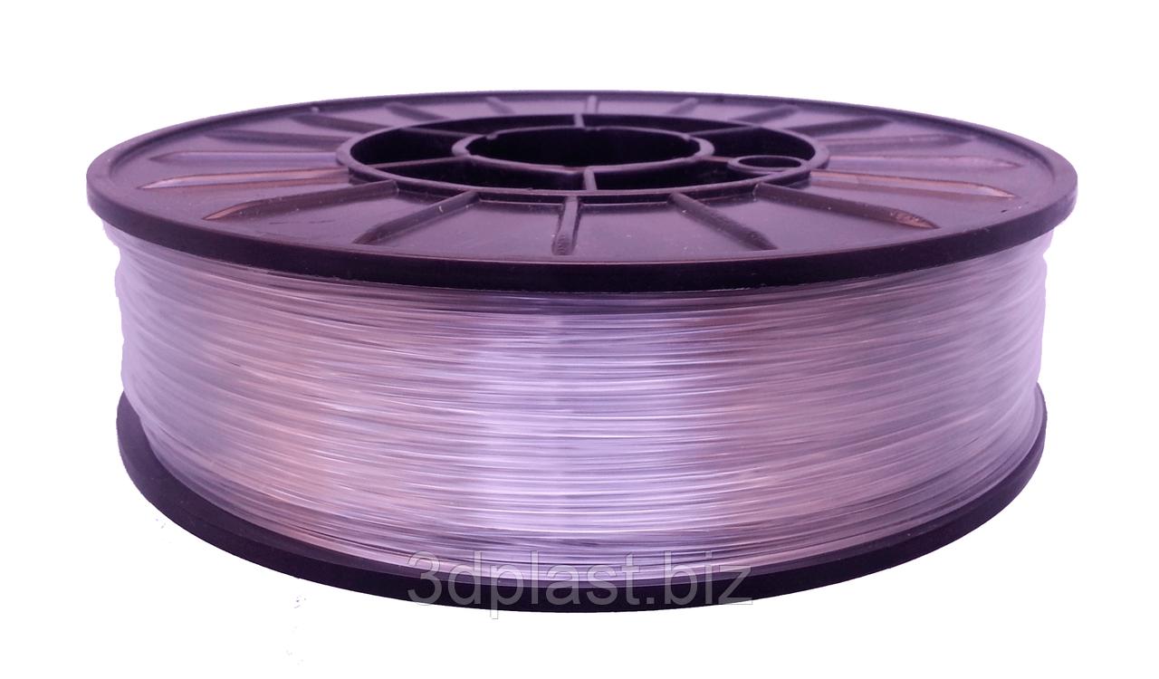 АБС ПРОЗРАЧНЫЙ для 3D принтера, 1.75 мм, 0.75 кг, прозрачный