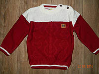 Теплый свитер для мальчика на 1 год