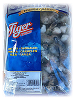 Креветка черная тигровая сырая без головы 21-25