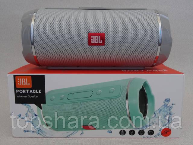 Колонка влагостойкая портативная Bluetooth JBL-116 серая