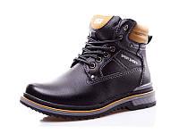 Стильные ботинки зимние для мальчика р( 31-33)