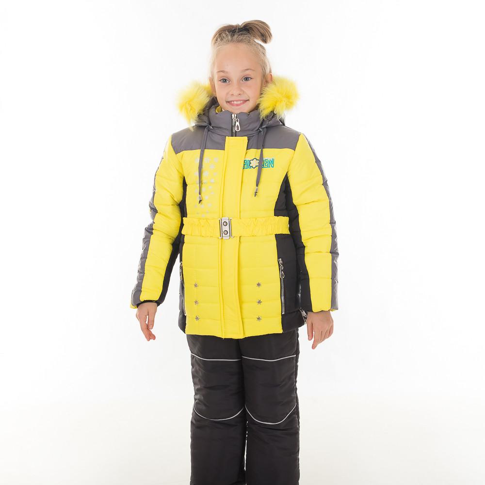 Детский зимний комбинезон  для девочки Фрозен,  новинки 2018 года, фото 1