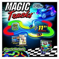 Конструктор Magic Tracks, светящаяся трасса 220дет.