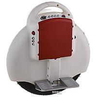 Моноколесо 350W, аккум ,свет,до 20км/ч,до 120кг,Bluetooth, Белое (02-D)