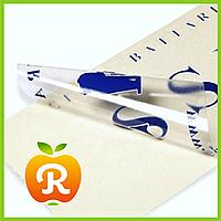 Печать этикеток на прозрачной пленке