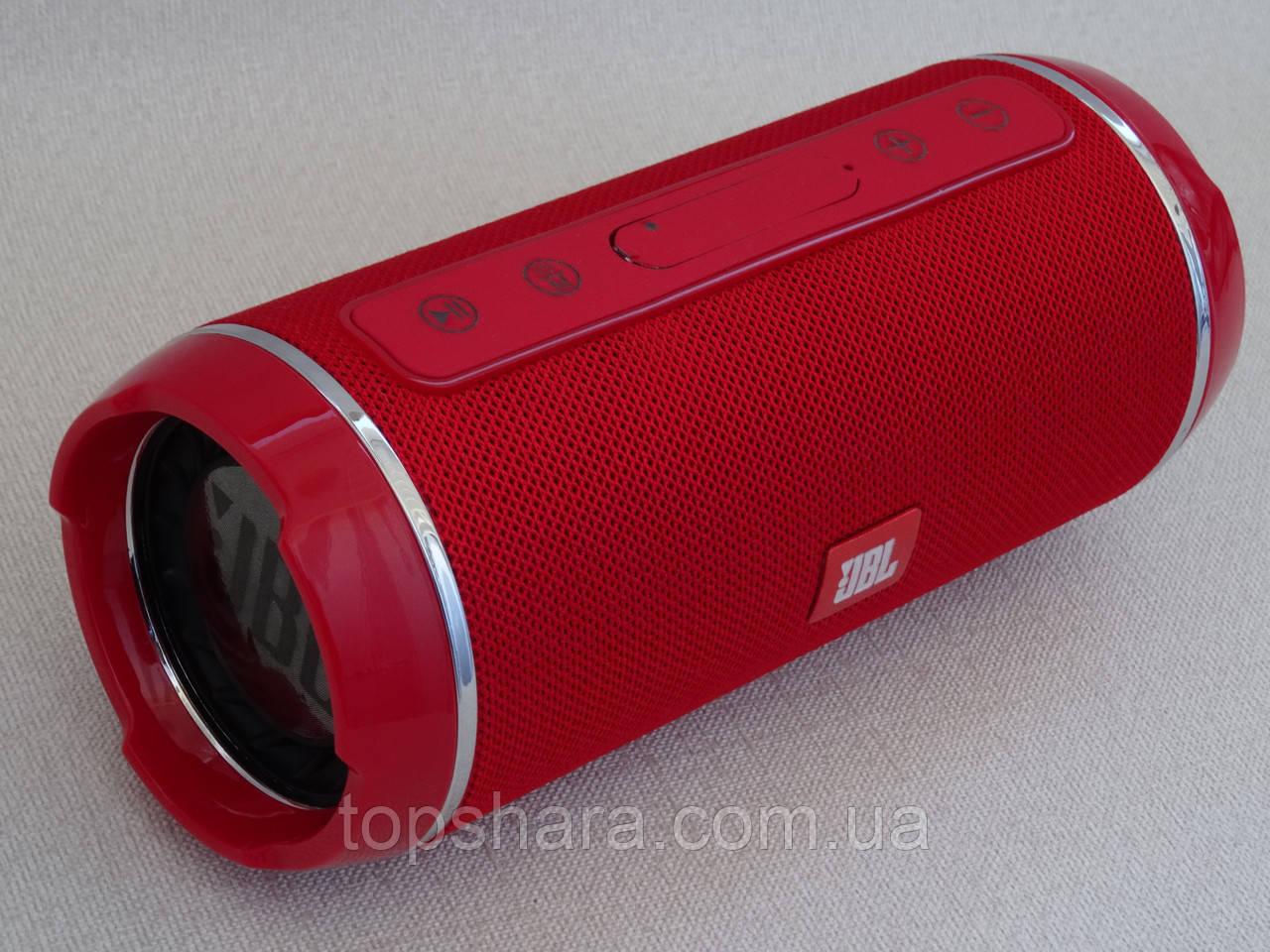 Колонка беспроводная мобильная влагостойкая Bluetooth JBL-116 красная