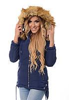 Женская зимняя куртка Карла с капюшоном