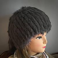 Зимние шапки из меха кролика в категории шапки в Украине. Сравнить ... 4f1f65d3dfc23