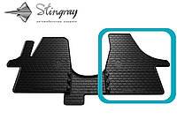Volkswagen T6 (1+2) 2015- Передний правый коврик Черный в салон