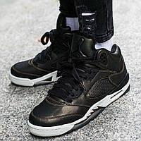 9e16427a Оригинальные женские / молодёжные кроссовки Air Jordan 5 Retro Premium  Heiress