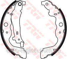 Барабанные тормозные колодки (задние) на Renault Dokker 2012-> — TRW (США / Германия) - GBS2306