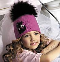 Шерстяная шапка для девочки Радомира, фото 1