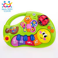 Музыкальная развивающая игрушка «Веселое пианино» Huile Toys 927