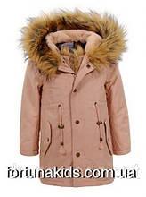 Куртки на меху для девочек GLO-STORY 92/98-128 р.р