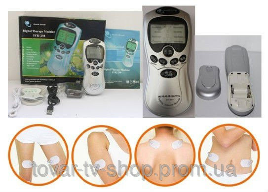 Многофункциональный электронный массажер миостимулятор digital therapy machine st-688