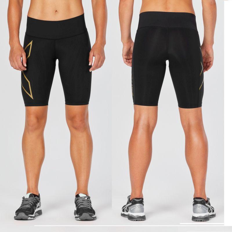 Женские элитные компрессионные шорты MCS Bonded Mid-Rise 2XU (Артикул: WA4531b)