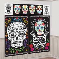 Декорация на стену День мертвых 210917-011