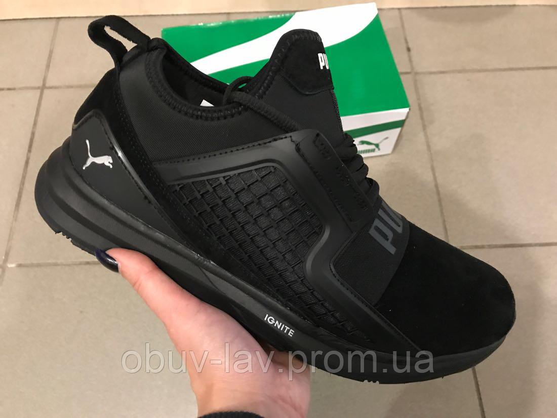 aa24884d2 Мужские кроссовки puma ignite чёрные - Интернет-магазин спортивной обуви