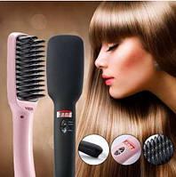 Электрическая расческа - выпрямитель с ионизирующим эффектом Fast Hair Staightener 2