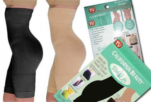 Белье для коррекции фигуры California Beauty Slim N Lift Утягивающие шорты с высокой талией