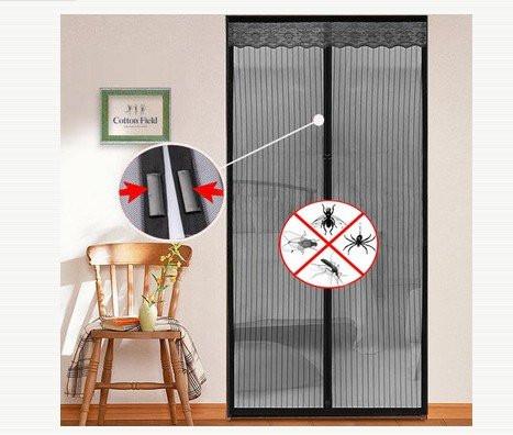 Антимоскитные магнитные шторы magic mesh 210х100см, антимоскитная сетка на магнитах