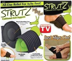 Ортопедические стельки STRUTZ Cushioned arch supports