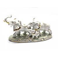 Фигурка для декора дома Три слона