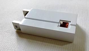 Квадро кристалл, белый